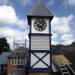 School Clock Tower