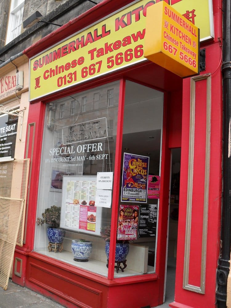 Summerhall kitchen takeaway fast food newington for O kitchen edinburgh