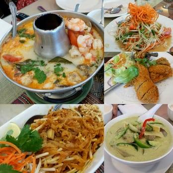 Thai tangerine restaurant 236 photos thai restaurants for Angel thai cuisine