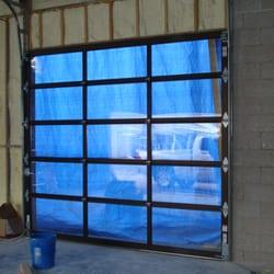 All Garage Door Repair - This is a 9 X 10 glass garage door we installed in downtown Denver. - Aurora, CO, United States