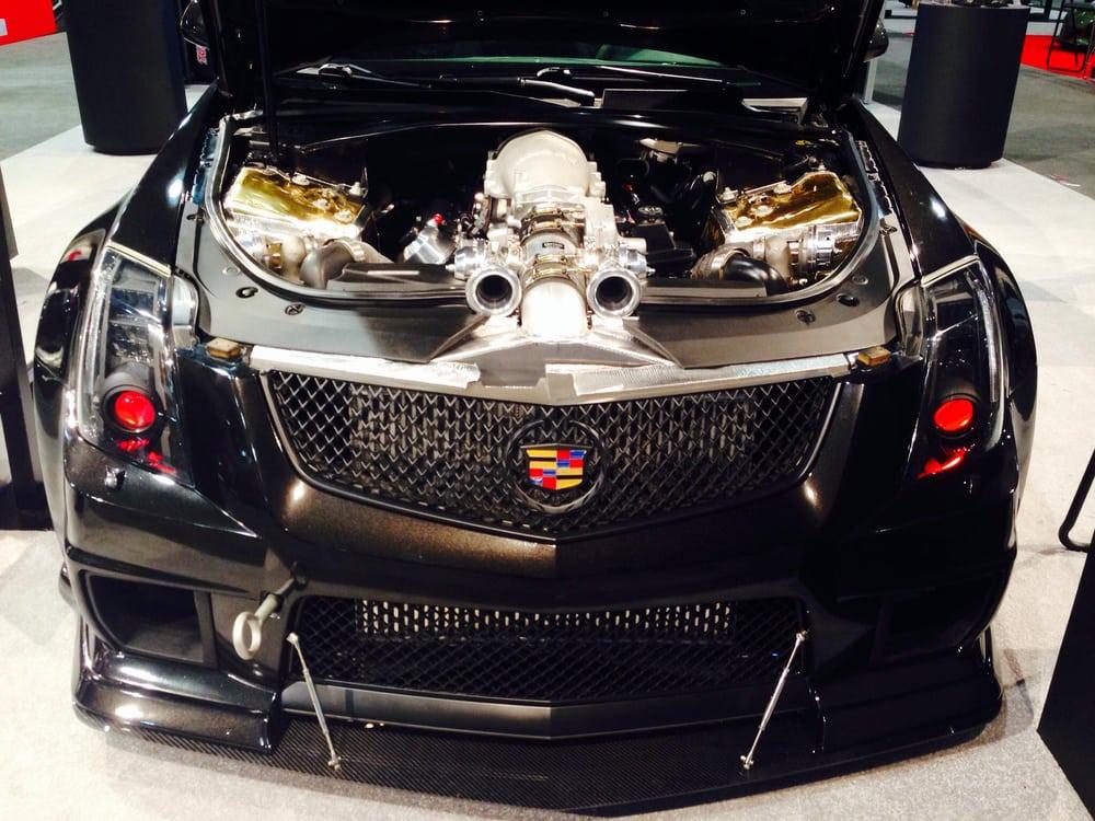 Lightwurkz D3 Cadillac Custom Blacked Out Ctsv Headlights