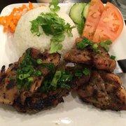 Paris Sandwich - Grilled chicken with rice. - New York, NY, Vereinigte Staaten