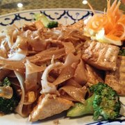 Royal Orchid - Pad Kee Mao with tofu - Ocala, FL, Vereinigte Staaten