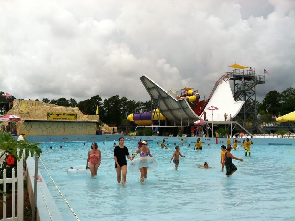 Jungle rapids family fun park discount coupons