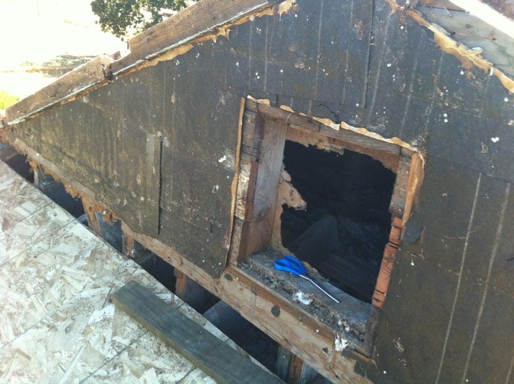 Tear Off Dry Rot Repair Reroof Shingles Yelp