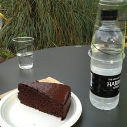 Cake at the cafe