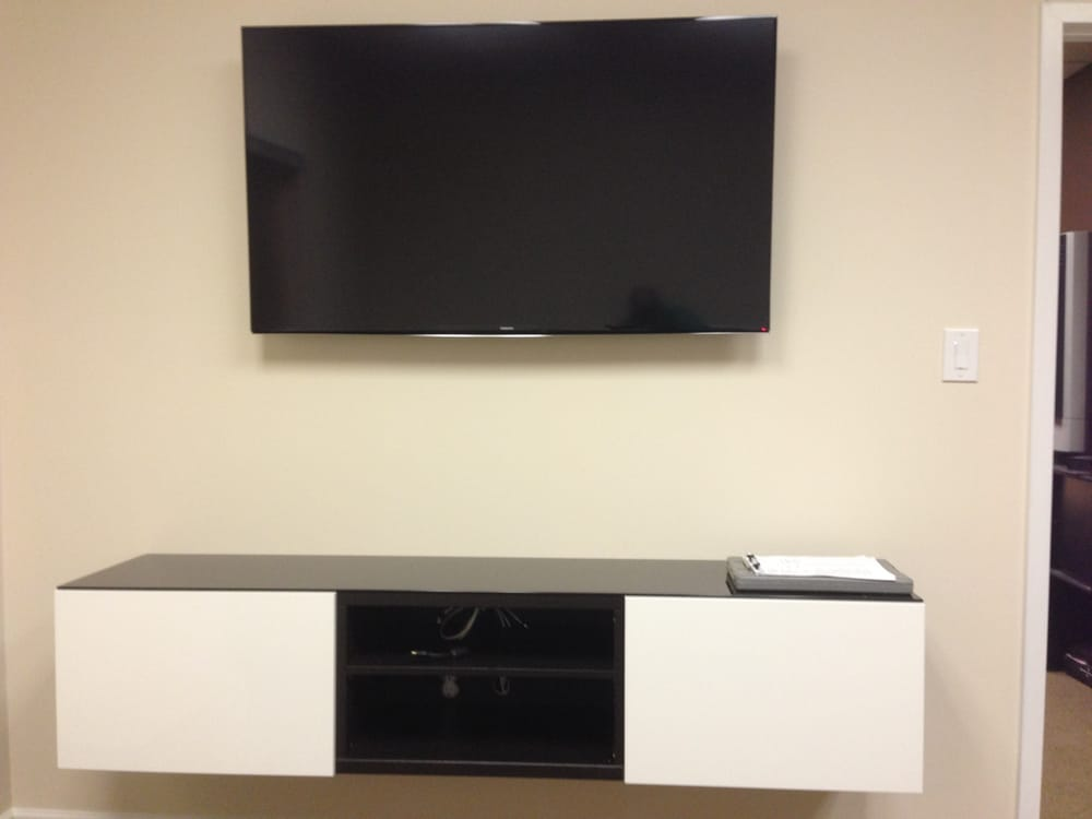 Besta Wall Cabinet Review :  United States We even wall mount your TV and IKEA Besta wall units