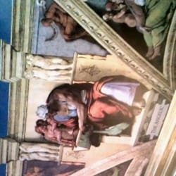 Not quite Michelangelo but impressive…
