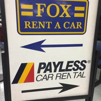 Fox car rental los angeles international airport 10