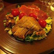 LA Salade au poulet.