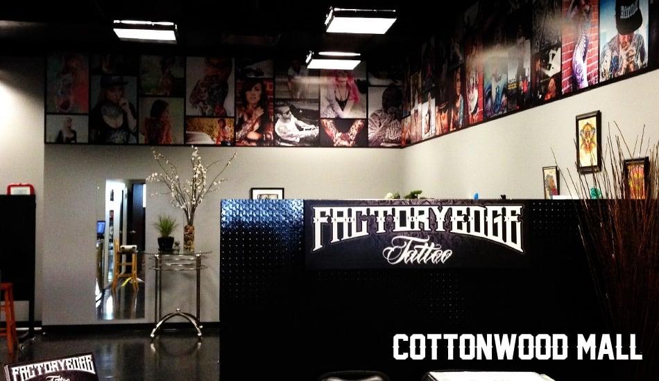 Factory edge tattoo cottonwood piercing westside for Tattoo shop albuquerque nm