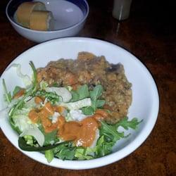 vegetarian stew, the Bonnington Cafe