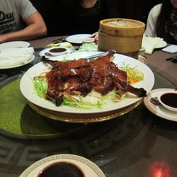 Beijing duck (with pancakes)