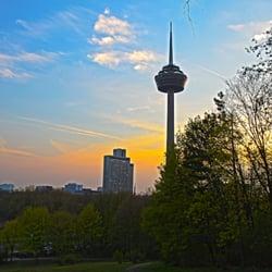 Blick in Richtung Telekom Turm