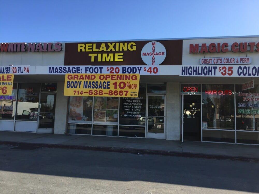 relaxing time massage day spas garden grove ca