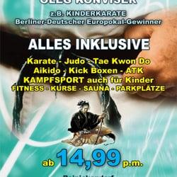 Kampfsport am Kurt Schumacher Platz, Berlin