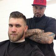 Headz Up Barber Shop Inc - Hialeah, FL, ?tats-Unis. Bryce Harper from ...
