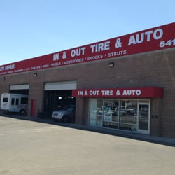 In Out Tire Auto Spring Valley Las Vegas Nv Yelp