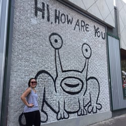 Jeremiah the innocent hi how are you frog local for Austin frog mural