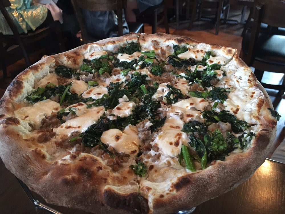 900 Degrees - Towaco, NJ, United States. Broccoli rabe pie