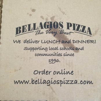 Bellagios pizza coupon code