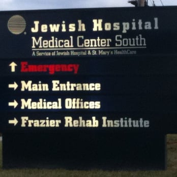 Jewish Hospital South Emergency Room