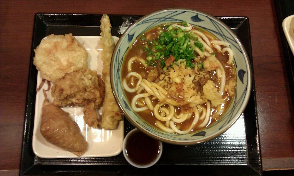 Curry Udon Inari Sweet