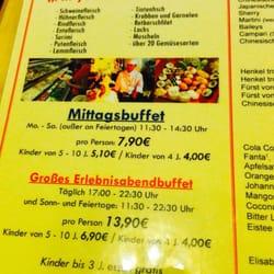 Buffet price (11/2013) but no English
