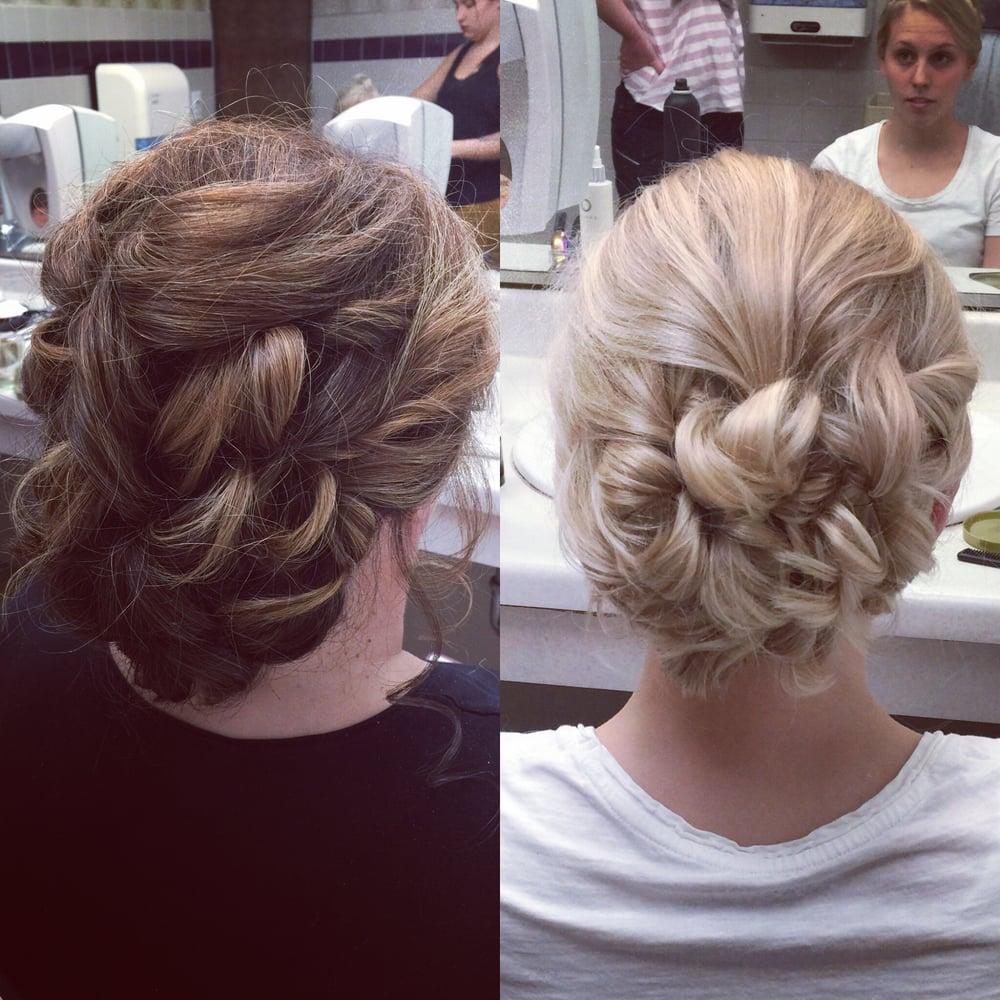 wedding hair salons near me 30 top knot bun wedding On wedding salons near me