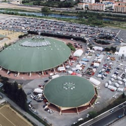 Parc des Expositions de Perpignan - Perpignan, Pyrénées-Orientales, France. Palais des Congrès & des Expositions de Perpignan