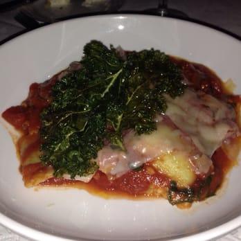 ... - Galveston, TX, United States. Gluten free kale and ricotta ravioli
