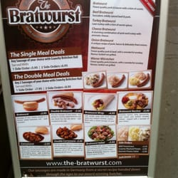 The Bratwurst, London