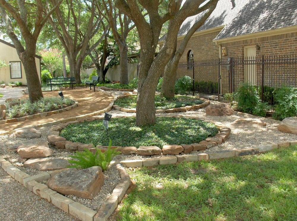 Landscaping Boulders Houston : C appeal landscaping photos northside