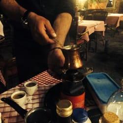 Mokka am Tisch zubereitet! Ein Traum!
