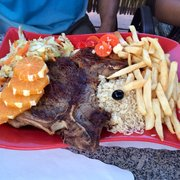 Cafe Opcao - T-bone steak - Newark, NJ, Vereinigte Staaten