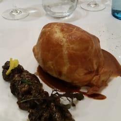 Filet de boeuf au foie gras et morilles…