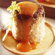 Taiwanese classic - Glutinous rice with minced pork and sweet sauce