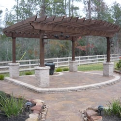 Wood crafters contractors fondren southwest houston for Southwest pergola