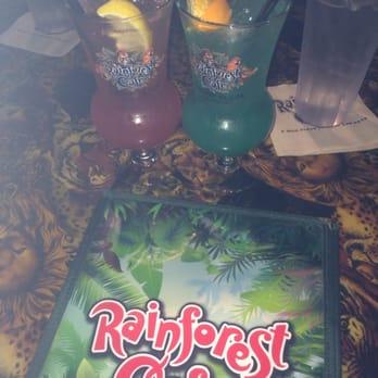 Rainforest Cafe Blue Nile Drink