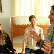 Tibetan Nyingma Institute - Sylvia Gretchen teaching an Advanced Meditation class 2012. - Berkeley, CA, Vereinigte Staaten