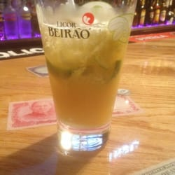 Cafe Opcao - capeta - like a caiprinha but with Hennessy instead of cachaça. delish!!!! - Newark, NJ, Vereinigte Staaten