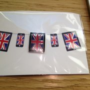 Free british iPad-pin during Olympics!