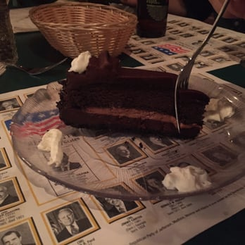 Founding Fathers Pub - Buffalo, NY, United States. Chocolate cake