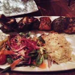 The Ottoman Grill: chicken and lamb with…