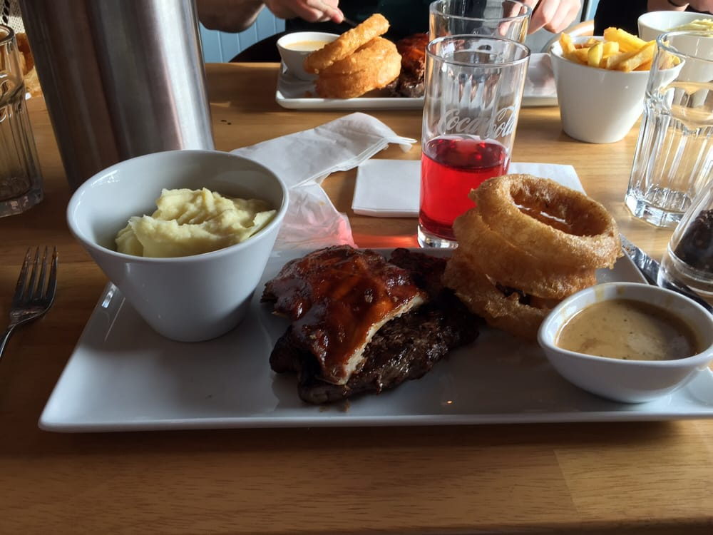 Steak and Ribs! Excellent choice | Yelp