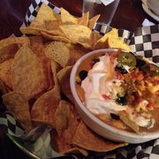 The Collective on Tap - Woodinville, WA, États-Unis. amazing nacho dip. rich and cheesy