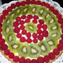 Inspiration Catering & Baking - Raspberry & Kiwi Tart - Federal Way, WA, Vereinigte Staaten