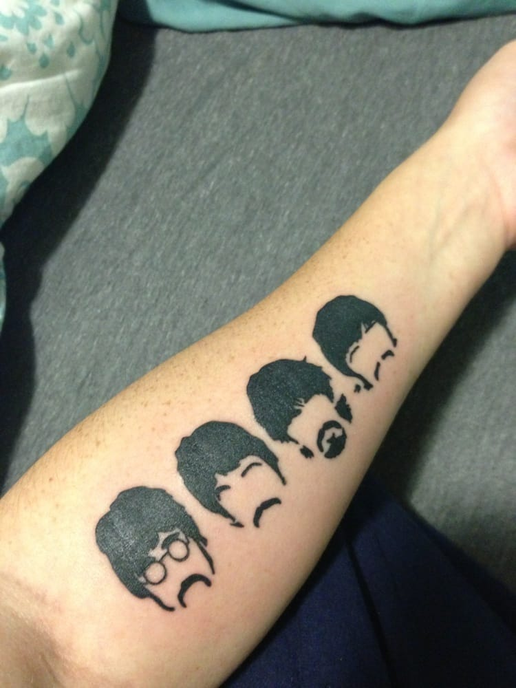 request beatles tattoo pictures included drawmytattoo. Black Bedroom Furniture Sets. Home Design Ideas