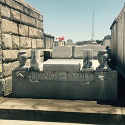 Greenwood Cemetery & Mausoleum - La Nouvelle-Orléans, LA, États-Unis. I think they are from Alabama