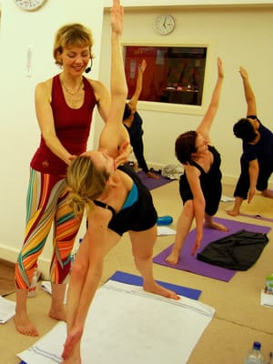 Yoga dating london